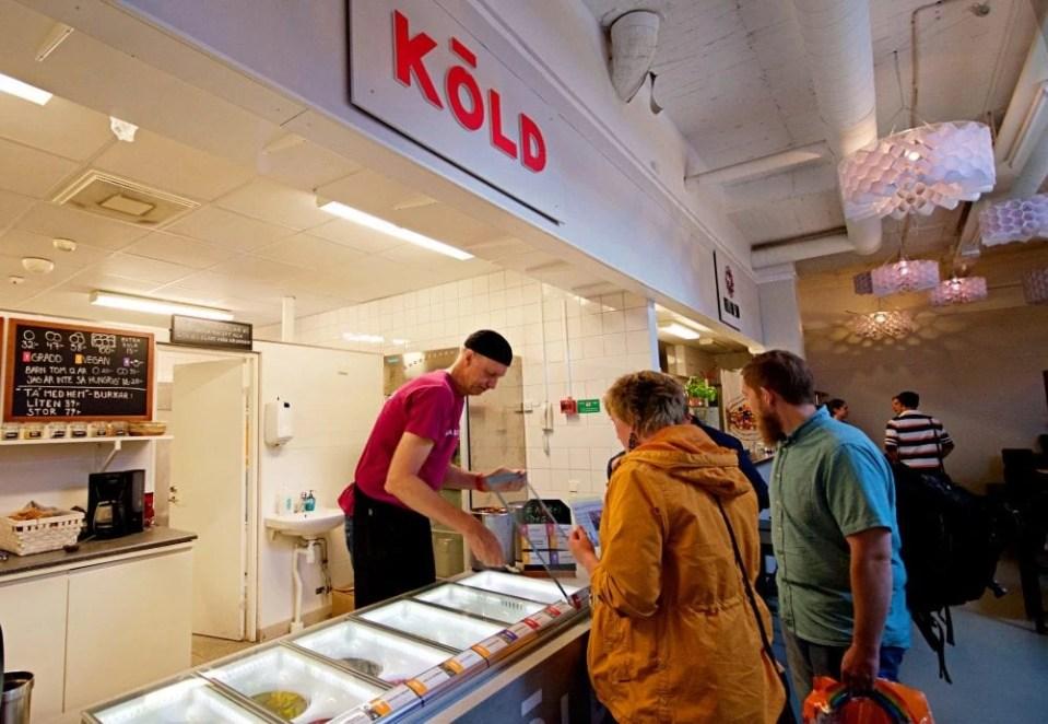 Kold Vegan Ice Cream in Malmo