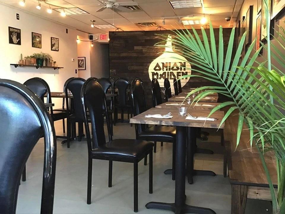 Onion Maiden Vegan Restaurant Pittsburgh
