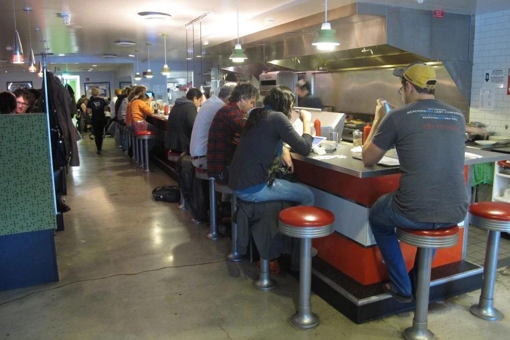 Veggie Galaxy Vegan Diner in Boston