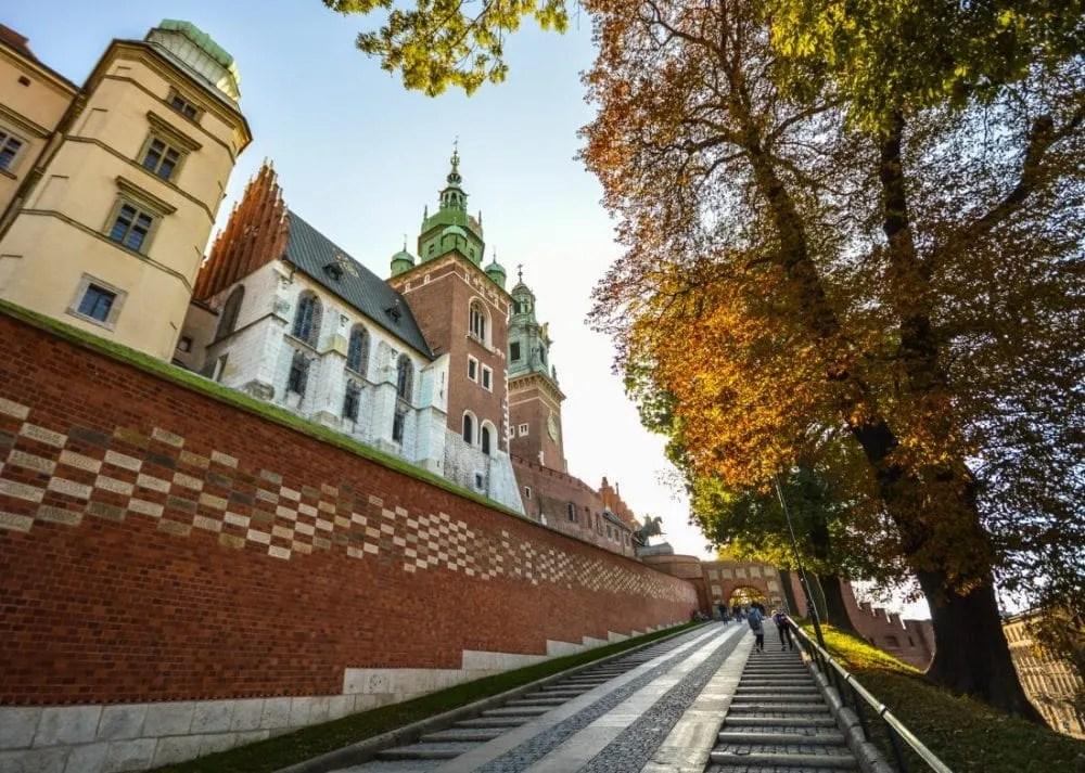 Vegan Krakow - Wawel Castle