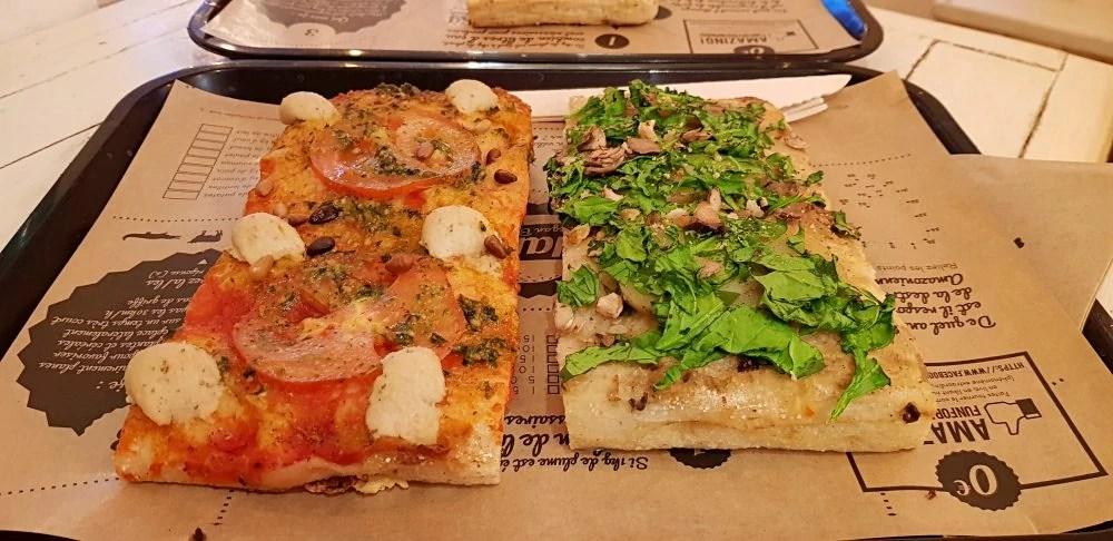 Hank vegan pizza in Paris