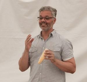 Joe Yonan at Richmond Vegetarian Festival