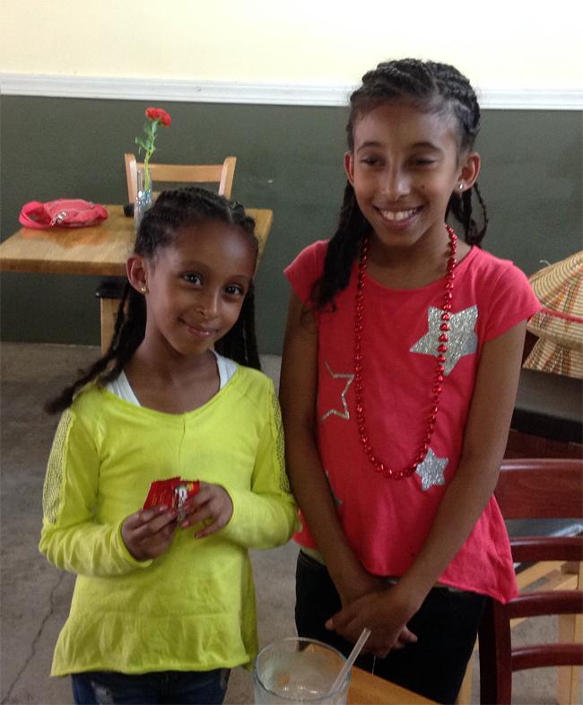 Rena and Raphaela