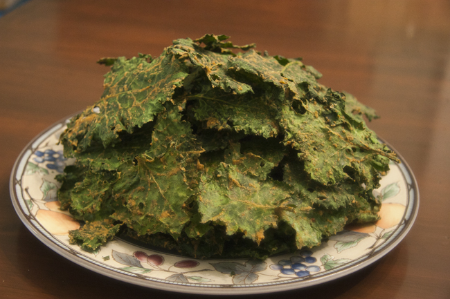 Danielle Bussone's Cheesy Kale Chips