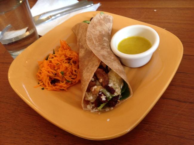 Gaia's Quinoa Wrap