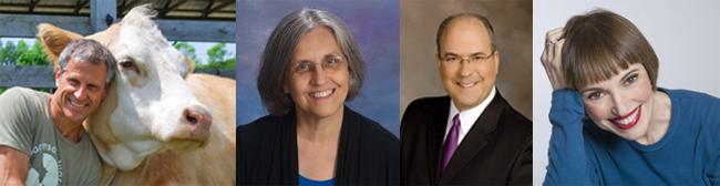 Presenters: Gene Bauer, Jane Wilson, Mike Goldberg (emcee) & Victoria Moran