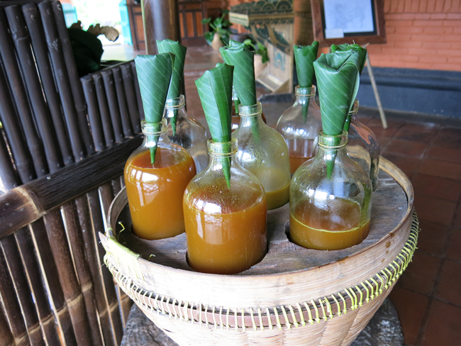 We loved trying the different traditional Jamu recipes