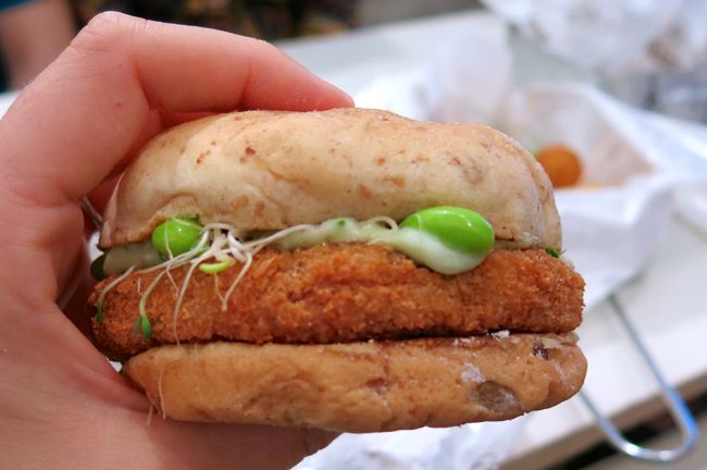'Wasabi Mayo' Burger: we hope this is the future of fast food.