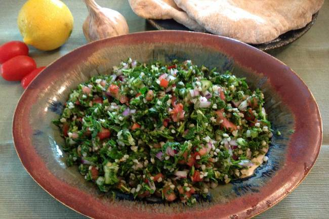 Middle-Eastern Tabbouleh