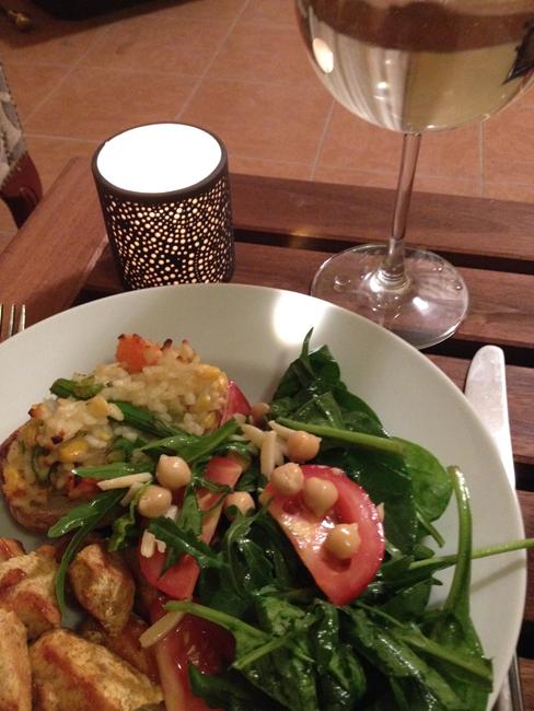 Home-Cooked Vegan Dinner
