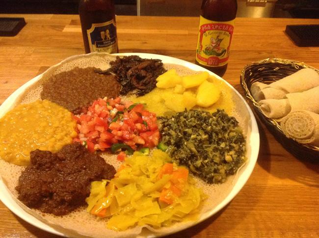 Ethiopic-Vegetarian Combo II