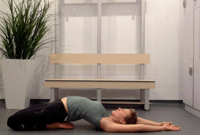 Kate Strong: Frontal Stretch