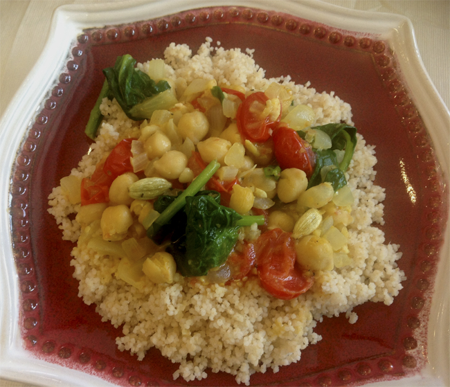 Coconut Curry With Indian Spices