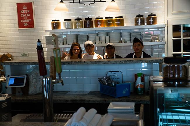 Christopher's Kitchen Staff