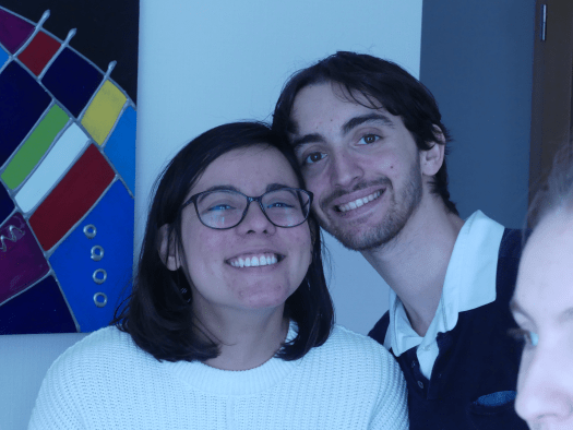 Allana and Thomas, Christmas 2020. - Meet vegan boyfriend