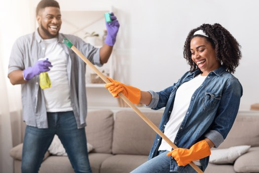 Vegan Cleaning - Couple together