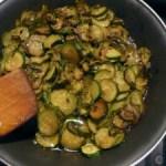 zucchini in padella