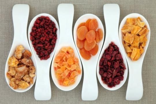 Dried fruit varieties