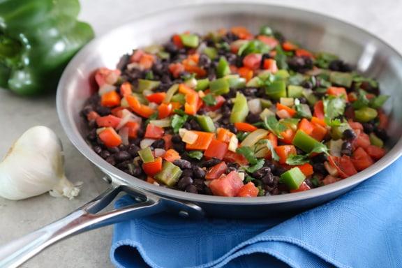 Black bean sofrito