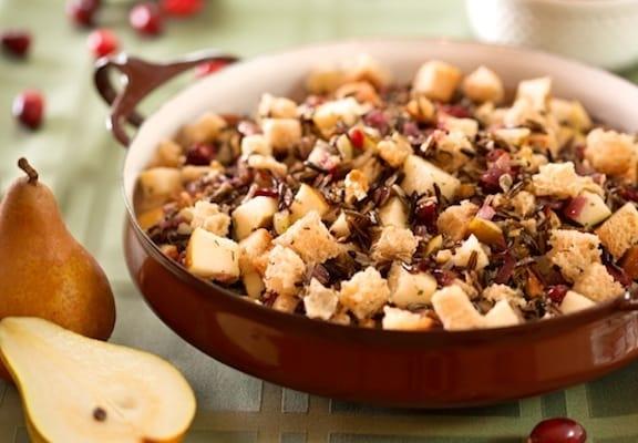Cranberry wild rice stuffing recipe