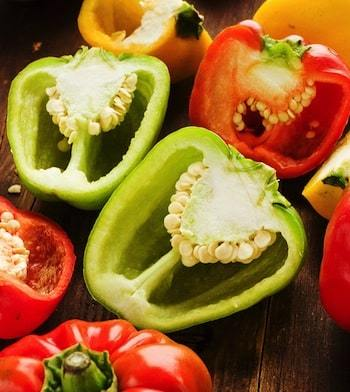 Bell peppers of all colors