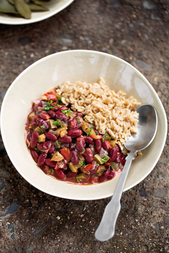 Vegan New Orleans Red Beans and Rice