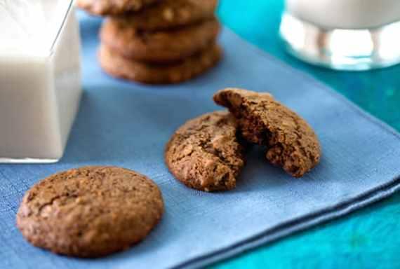 Vegan brownie bites cookies
