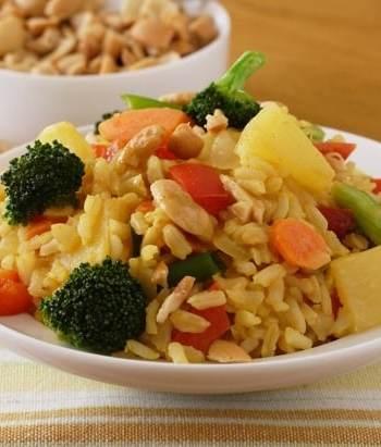 Thai pineapple rice recipe
