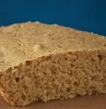 Vegan cornbread from Happy Herbivore