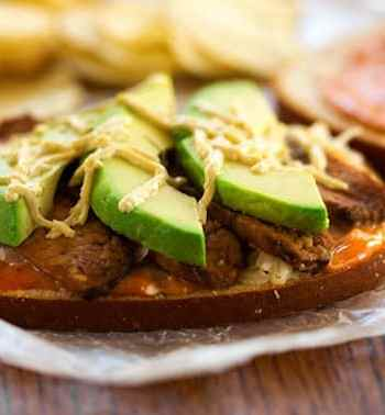 Avocado Tempeh Reuben Sandwich recipe