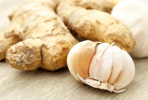 Ginger and garlic
