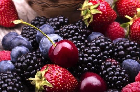 Berries and cherries