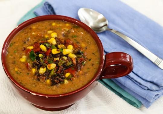Quick Cool Pinto Bean Soup recieip