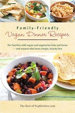 Family-friendly Vegan Dinner Recipes e-book cover