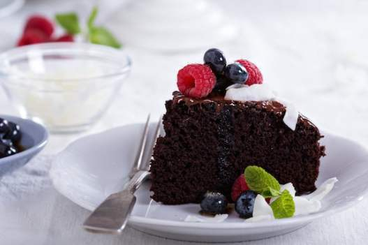 Springform Chocolate Raspberry Cake Recipes