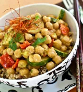 Dreena Burton's Thai Chickpea-Almond curry