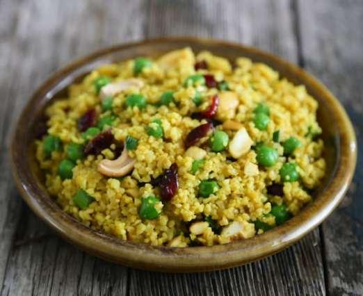 Curried cashew couscous recipe