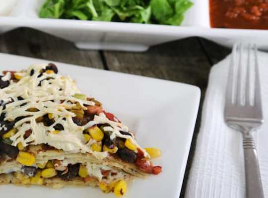 Super-Easy Tortilla Casserole