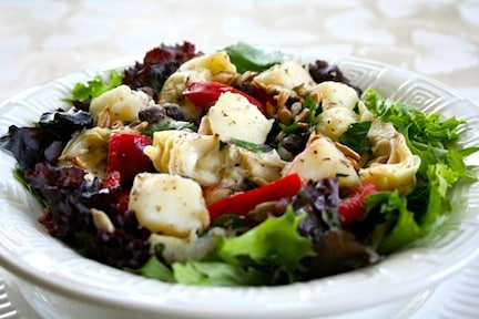 Potato and black bean salad