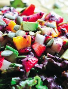 Strawberry Mango Salad Susan Powers Rawmazing