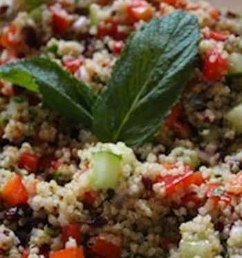 Quinoa and cranberry salad
