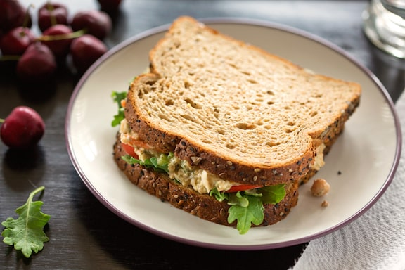 Sharon's chickpea salad or sandwich spread