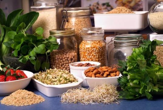 Healthy Plant-Based Pantry Foods