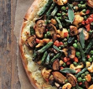 Shepher's pie pizza