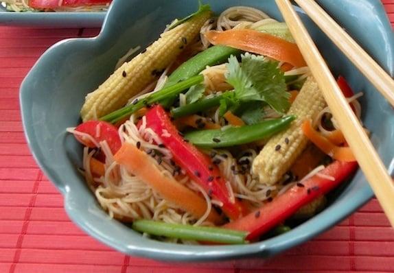 Chili-orange noodles recipe