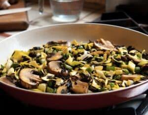 wild rice pilaf by leslie cerier