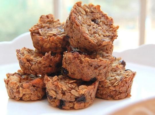 Quinoa Apricot Mini-Muffins