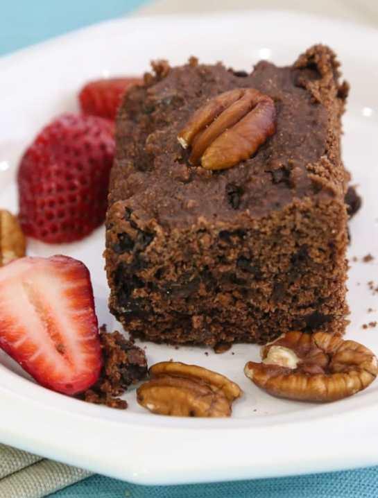 Vegan chocolate brownie cake recipe