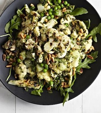 Pesto Cauliflower Salad by Terry Hope Romero from Salad Samurai