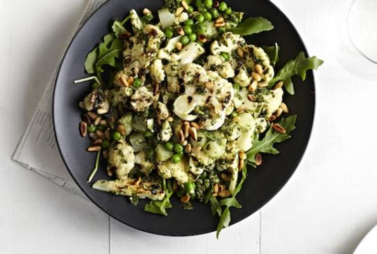 Pesto Cauliflower Salad by Terry Hope Romero from Salad Samurai